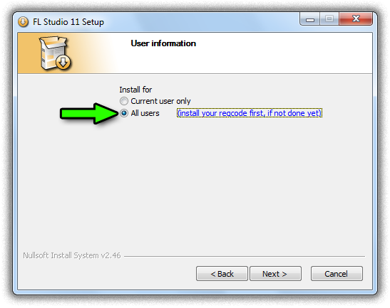 Registration: How to install and unlock FL Studio for all users of a computer? (e.g. in a school ...