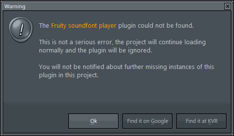 SoundFont Player does not work